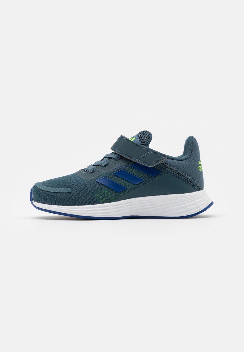 adidas Performance - DURAMO SL UNISEX - Sports shoes - legacy blue/team royal blue/signal green