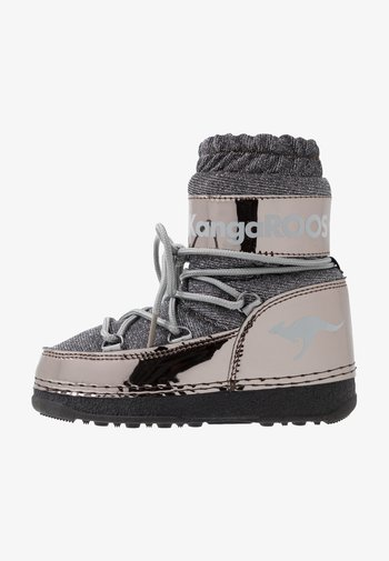 K-MOON - Śniegowce - steel grey metallic/vapor grey