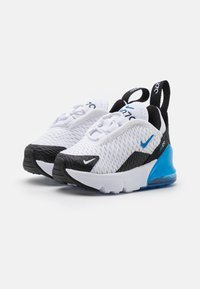 Nike Sportswear - AIR MAX 270 UNISEX - Trainers - white/signal blue/black - 1