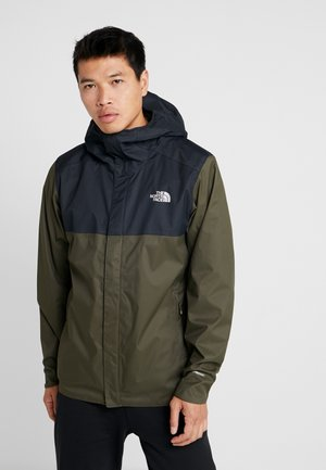 QUEST ZIP IN JACKET - Hardshell-jakke - new taupe green/black