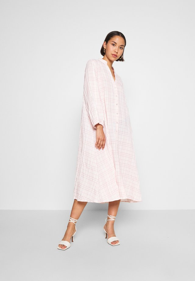DARJA DRESS - Shirt dress - rose