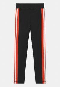 adidas Performance - UNISEX - Leggings - black/white - 1