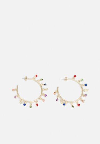 PCPARISA EARRINGS - Earrings - gold-coloured/multi