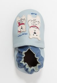 Robeez - BEARS FAMILY - First shoes - bleu/clair bleu - 1