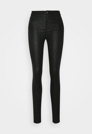 VICOMMIT  - Pantalon classique - black/glitter