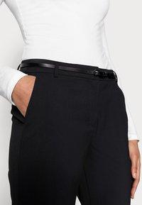 Esprit Collection - NEWPORT - Trousers - black - 5