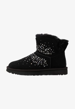 CLASSIC GALAXY BLING MINI - Ankle boots - black
