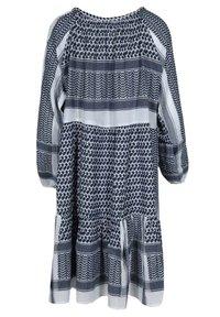 Zwillingsherz - VALENTINA - Day dress - jeansblau weiß - 1