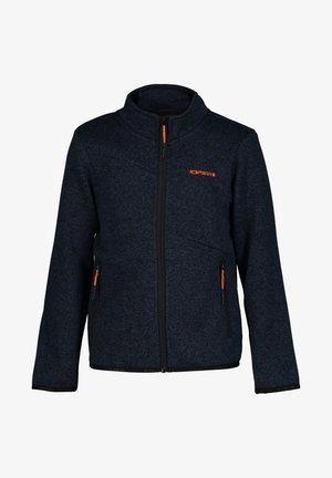 Zip-up hoodie - dunkel blau