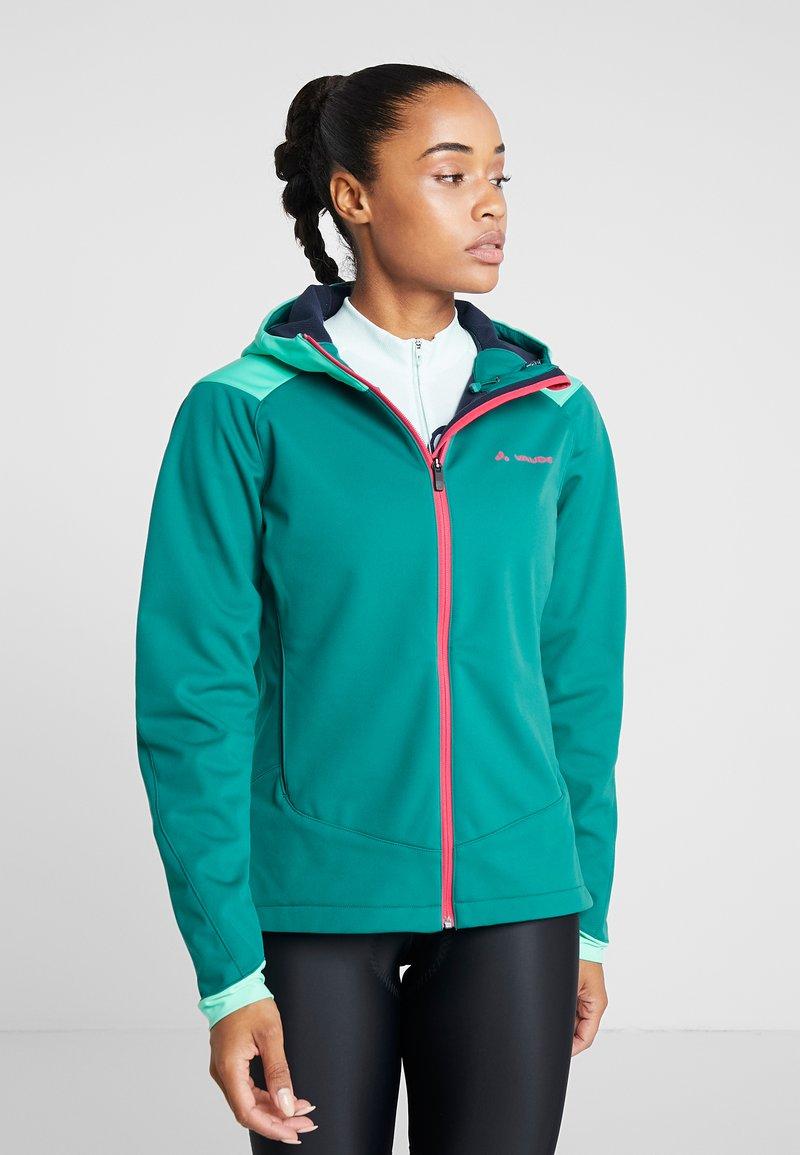 Vaude - WOMENS QIMSA JACKET - Soft shell jacket - petroleum