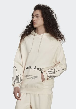 TRICOLOR GRAPHICS - Hoodie - white