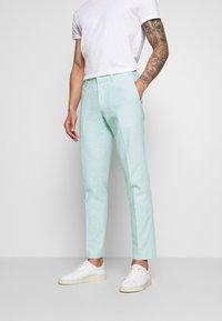 Isaac Dewhirst - PLAIN WEDDING - Oblek - mint - 4