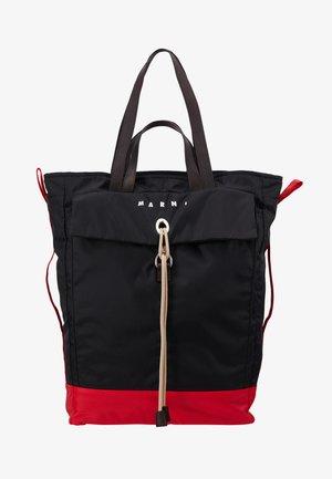 Cabas - black/red/brown
