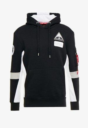 SPACE CAMP HOODY - Huppari - black