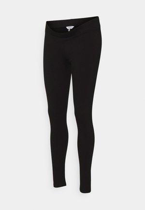 MATERNITY ORGANIC UNDERBUMP LEGGING - Legíny - black