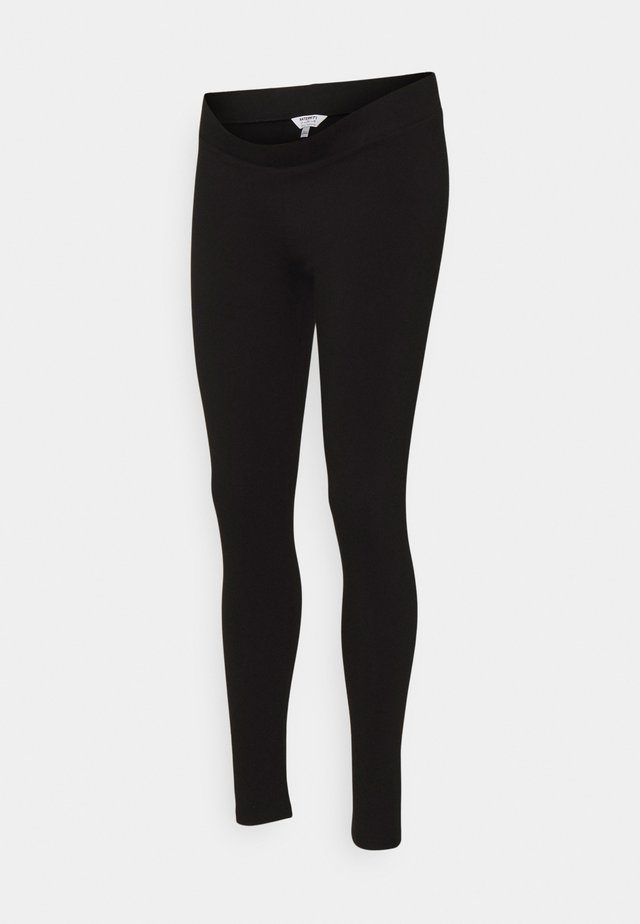 MATERNITY ORGANIC UNDERBUMP LEGGING - Leggings - black