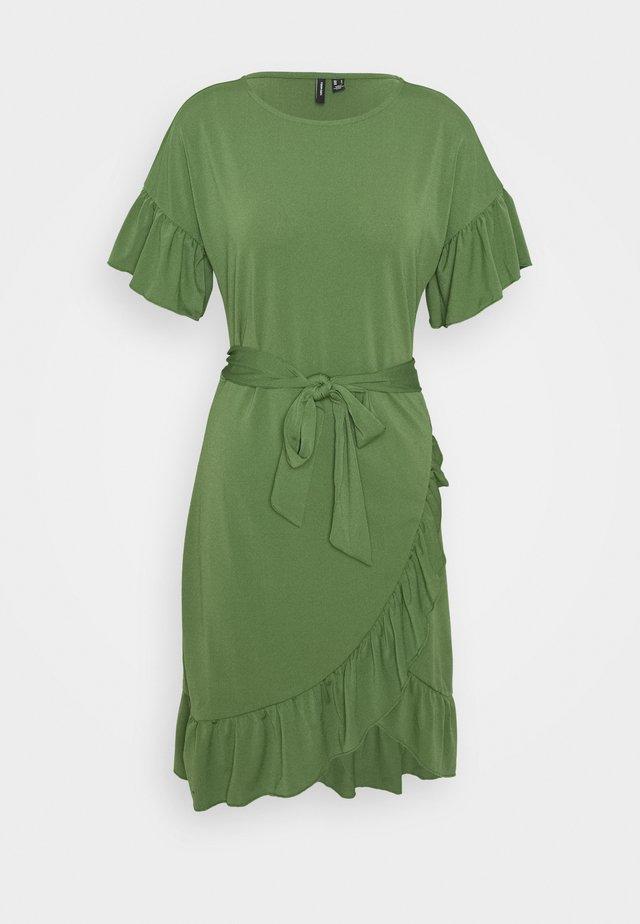 VMPOPPY TIE SHORT DRESS - Etuikjole - willow bough