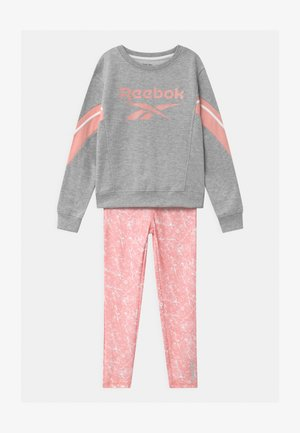 CREW SET UNISEX - Trainingspak - coral