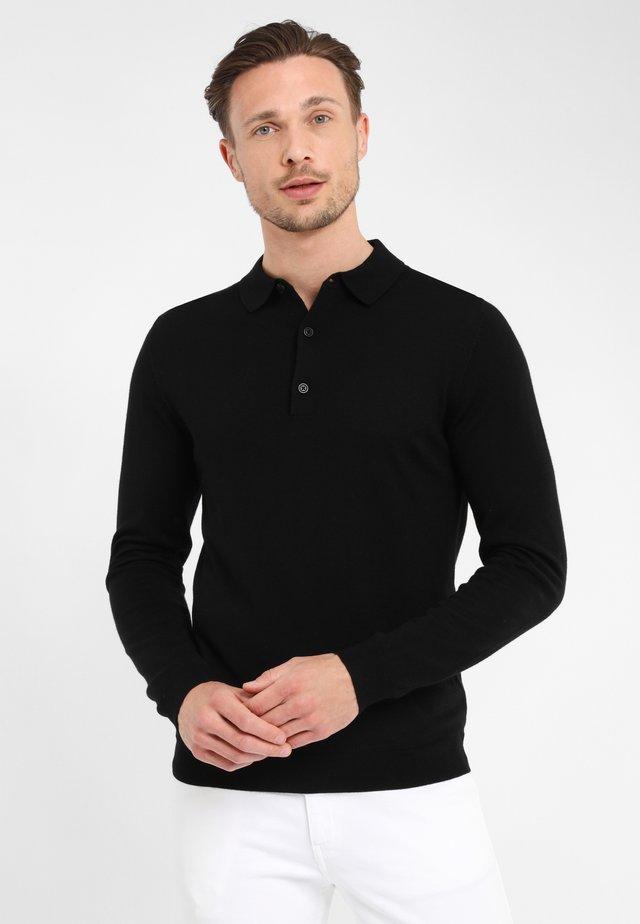 PROFUOMO - Polo shirt - black
