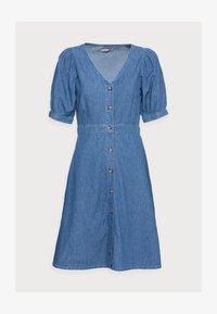Anna Field - CHAMBREAY SHIRT DRESS - Denim dress - light blue - 4
