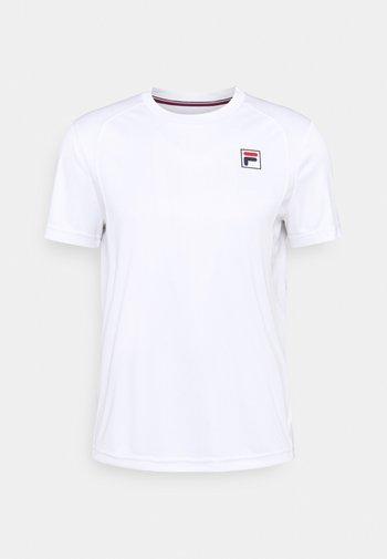 NICK - Jednoduché triko - white