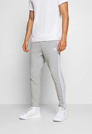 STRIPES MUST HAVES SPORTS REGULAR PANTS - Teplákové kalhoty - medium grey heather