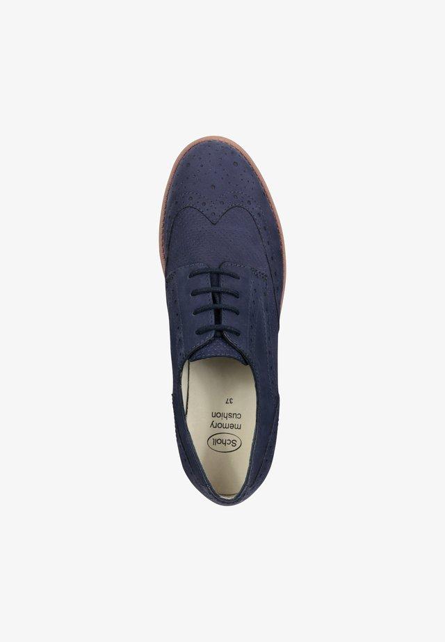 VIRGINIA - Casual lace-ups - blue