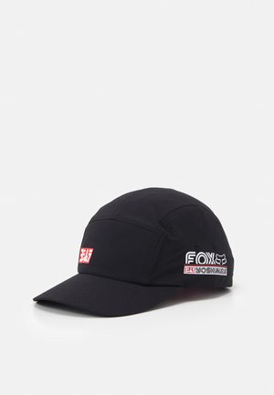 YOSHIMURA FOX PANEL HAT  - Kšiltovka - black