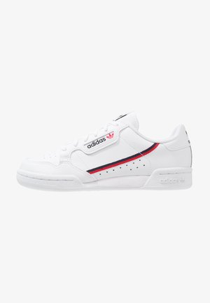 CONTINENTAL 80 - Sneakersy niskie - footwear white/scarlet/collegiate navy