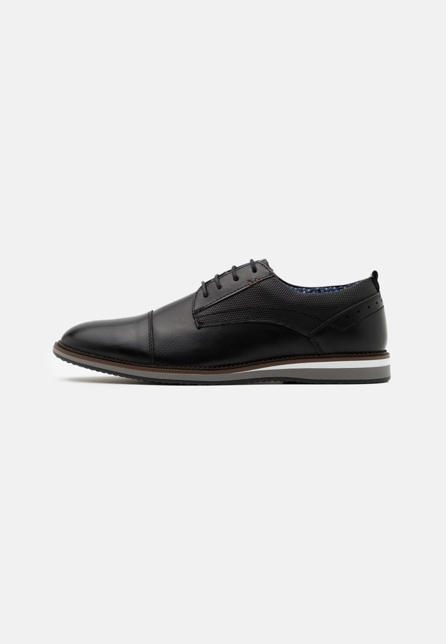HIME - Casual lace-ups - black
