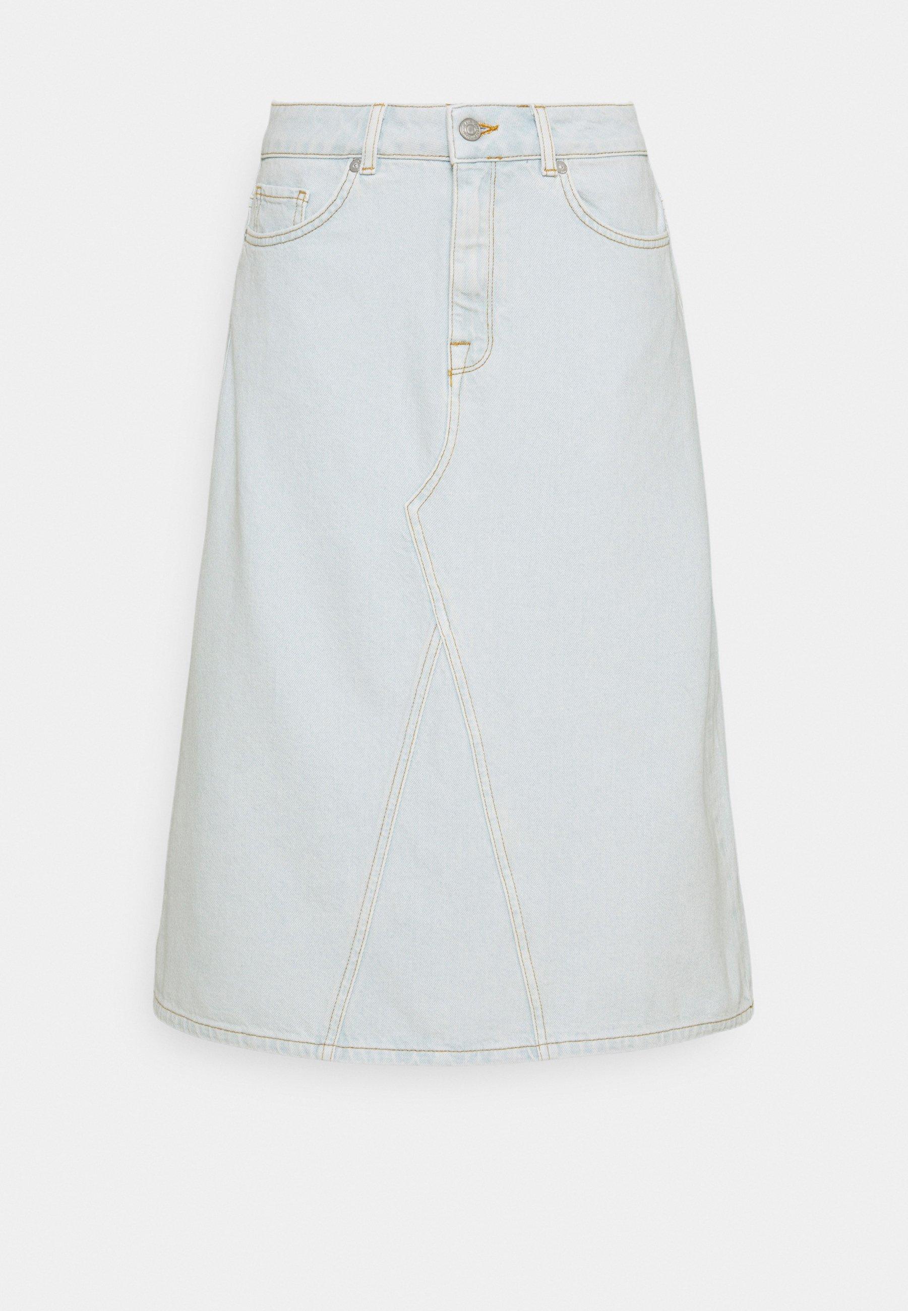 Femme SLFRUBY BRIGHT SKIRT - Jupe en jean