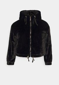 Missguided Plus - HOODED JACKET - Winter jacket - black - 0
