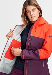 Mammut - Masao  - Softshelljacke - blackberry-spicy - 3