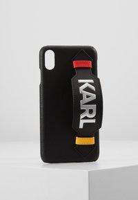 KARL LAGERFELD - CASE WITH STRAP MAX - Étui à portable - black - 0