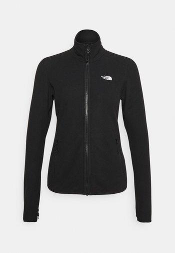 GLACIER  - Fleece jacket - black