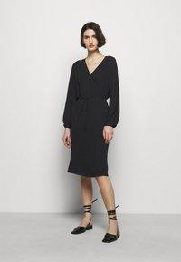 Filippa K - WILLA DRESS - Vestito estivo - black - 0