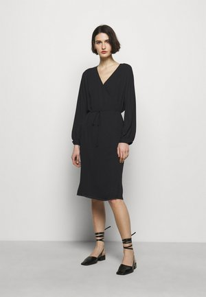WILLA DRESS - Denní šaty - black