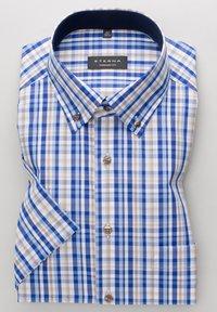 Eterna - COMFORT FIT - Shirt - beige/blau - 5