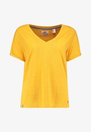 Basic T-shirt - old gold