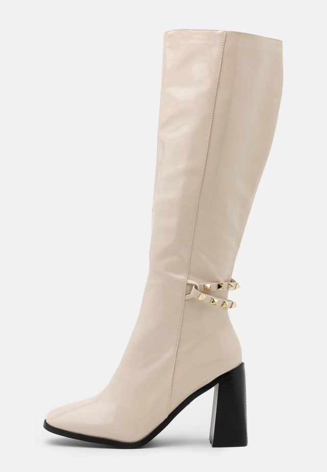 WIDE FIT DONITA - Botas - offwhite