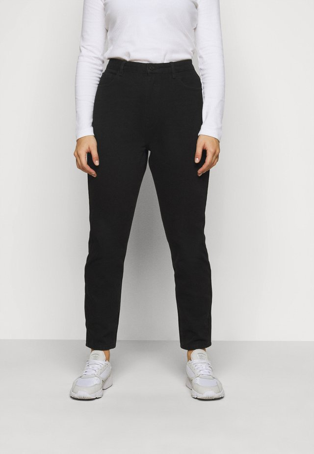 WRATH HIGH WAISTED - Straight leg jeans - black