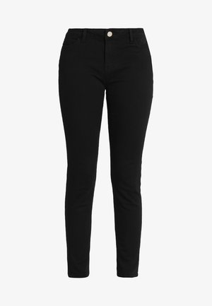 PETRA.N - Džíny Slim Fit - black