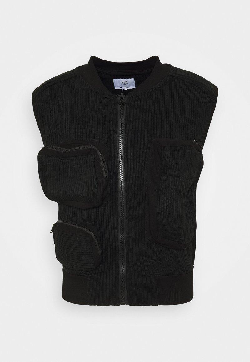Sixth June - UTILITY VEST - Waistcoat - black