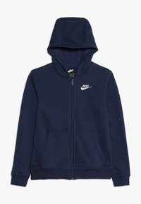 Nike Sportswear - HOODIE CLUB - Mikina na zip - midnight navy - 0