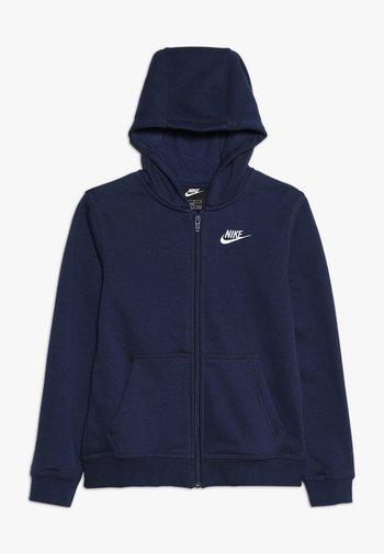 HOODIE CLUB  - Zip-up sweatshirt - midnight navy