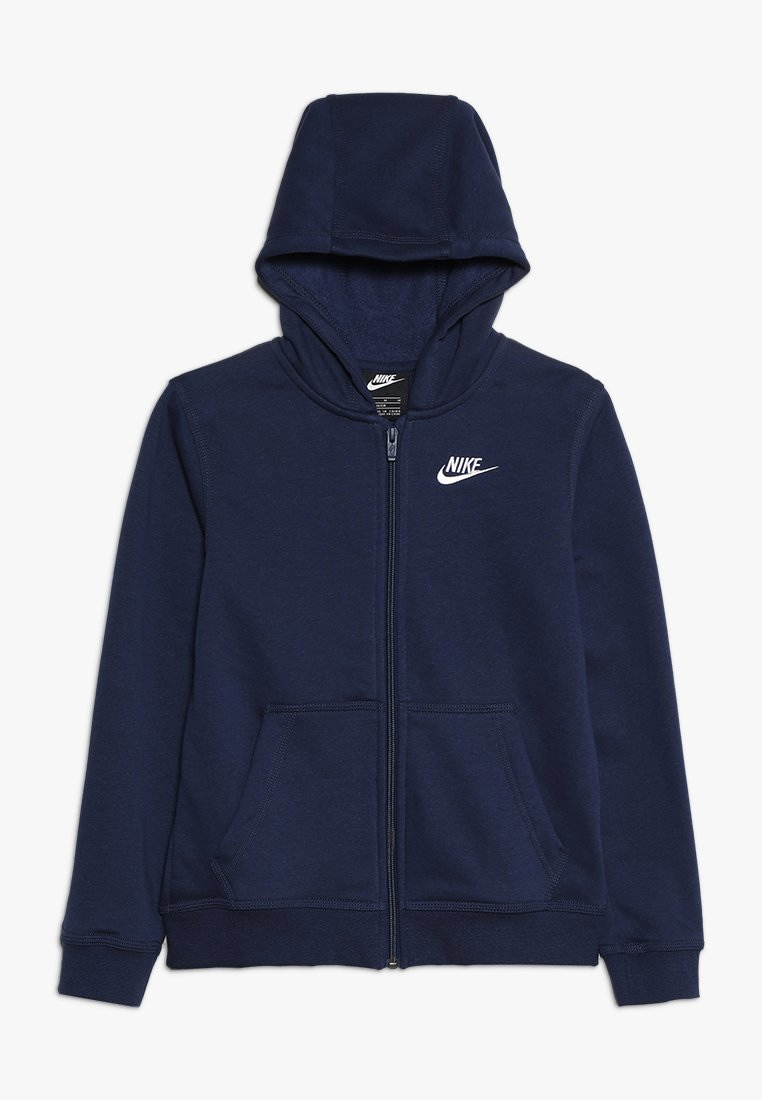 Nike Sportswear - HOODIE CLUB - Mikina na zip - midnight navy