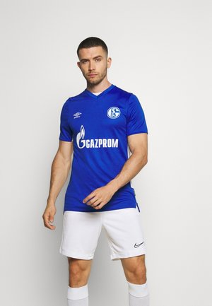 FC SCHALKE 04 HOME - Klubové oblečení - deep surf blue/brilliant white
