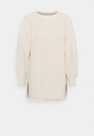 LONGSLEEVE ROUND NECK - Trui - natural white