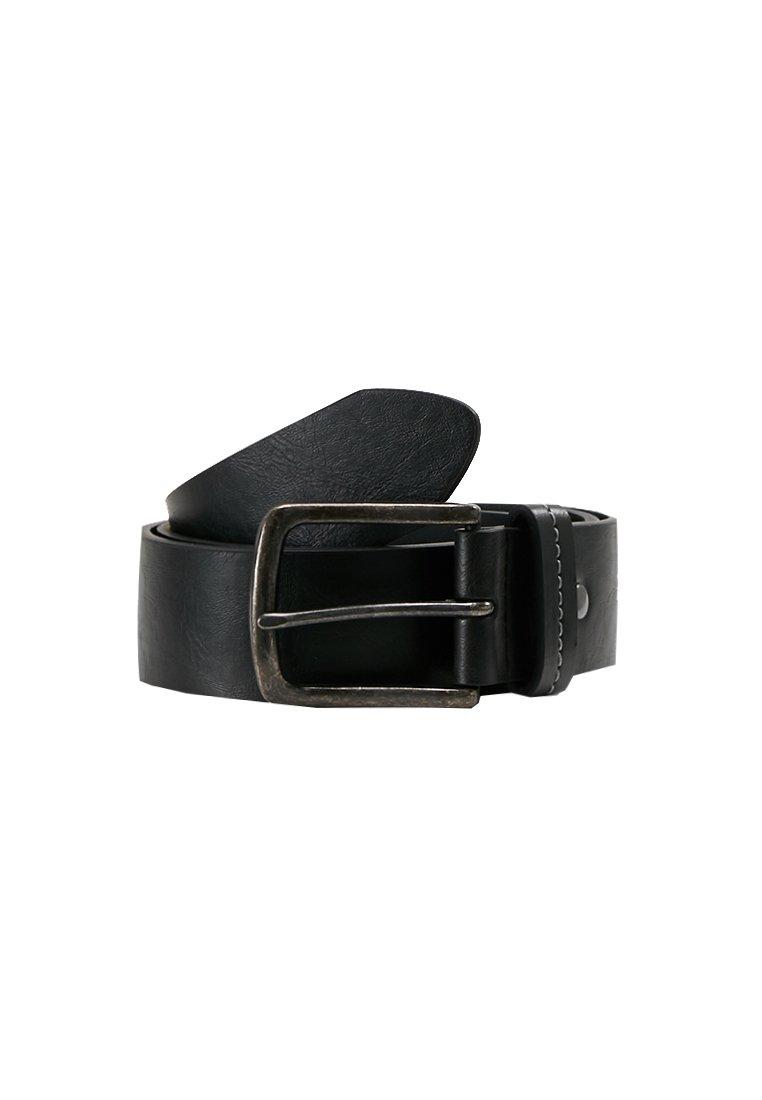 Burton Menswear London JEANS BELT - Belte - black/svart bxrMTvO1VvKLmJV