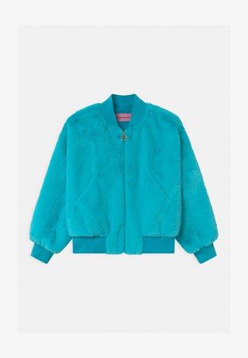LOGO - Winter jacket - atlantic